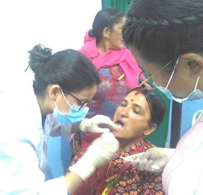 Dental Camp on 20th October 2018