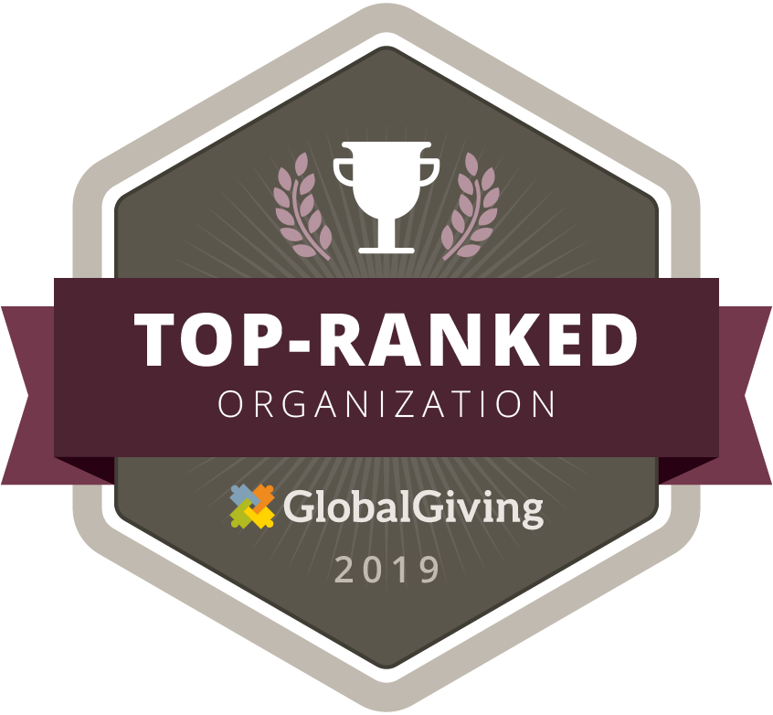 DCWC earned  the badge for  the Year 2019 from Global Giving