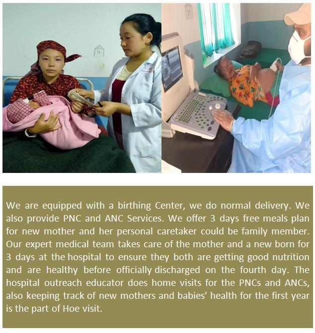 Maternity Service